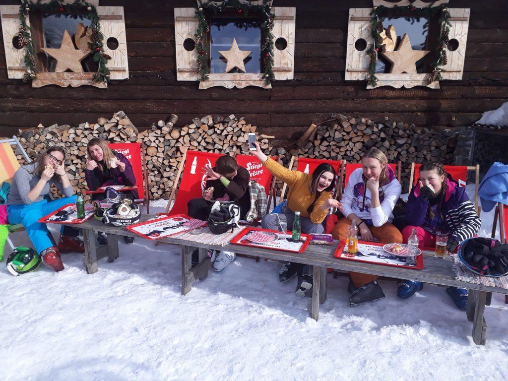 Schifahren Saalbach