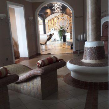 Wellnesbereich im Hotel Sonnbergof