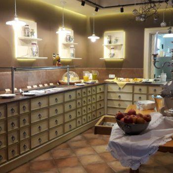Buffet im Hotel Sonnbergof