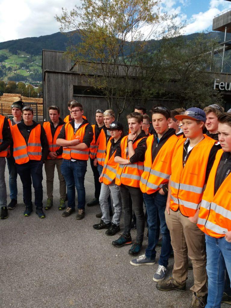Betriebsbesichtigung Binderholz