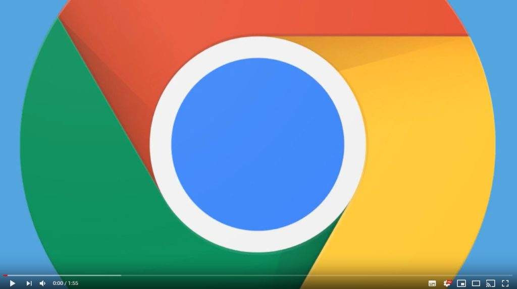 Chrome Anmeldung