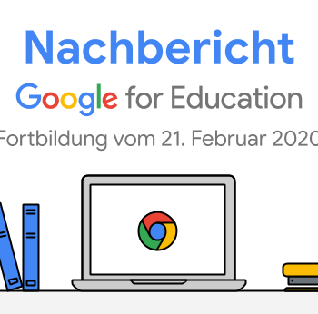 Google for Education Fortbildung mit Florian Nill