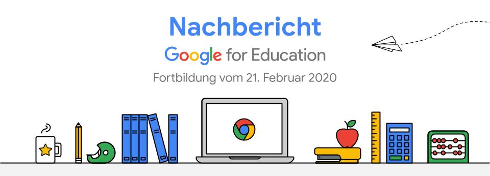Google for Education Fortbildung mit Florian Nill